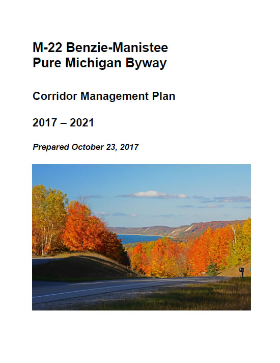 Benzie-Manistee Plan 2017 Cover