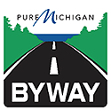 MDOT Pure Michigan Byway Sign